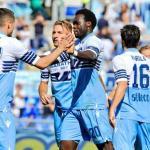 Lazio, durante un partido de 2018 / twitter