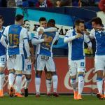 Leganés, celebrando un gol / Twitter