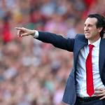 Emery en un partido con el Arsenal. / independent.ie