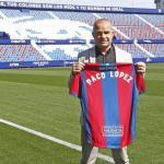 Paco López, con el Levante / twitter