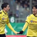 Lewandowski y Kagawa/ lainformacion.com/ EFE