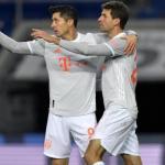 Lewandowski-Müller: la mejor dupla de Europa no tiene fecha de caducidad. Foto: Getty