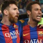 Leo Messi y Neymar, en un partido del FC Barcelona / Express.