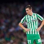 Lo Celso en un partido / Betis