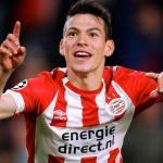 Hirving Lozano, con el PSV / Twitter