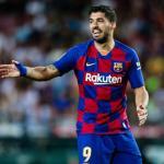 Luis Suárez en un partido con el Barcelona. / lared.com.gt