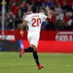 Luis Muriel con la camiseta del Sevilla. Foto: LaLiga.es