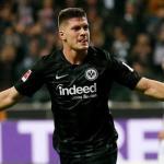 Jovic celebra un gol con el Eintracht (EFE)