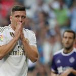 Luka Jovic, la primera salida del Madrid en el mercado de fichajes