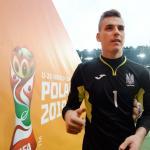 Lunin durante el mundial sub-20. / es.fifa.com