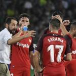 Pablo Machín, en partido de 2019 / twitter