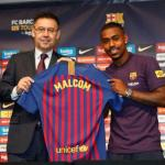 Malcom, con el Barcelona / Twitter
