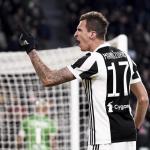 Mandzukic en un partido con la Juventus. / pinterest.com