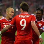 Mandzukic durante su etapa en el Bayern (Youtube)