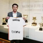 Marcelino García Toral, entrenador del Valencia. Foto: Valenciacf.com