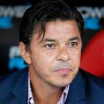 """Marcelo Gallardo señaló al nuevo objetivo de River Plate """"Foto: TNT Sports"""""""