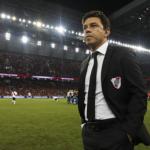 """San Lorenzo le robó un objetivo a Gallardo en River Plate """"Foto: TNT Sports"""""""