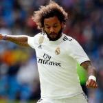 Marcelo, durante un partido / Real Madrid.