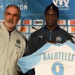Mario Balotelli en su presentación con el Marsella. Foto: Olympique de Marsella