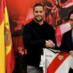 Mario Suárez, en su presentación / twitter