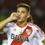 """""""El Real Madrid se interesa en el central de River, Martínez Quarta. Foto: Getty Images"""""""
