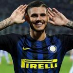 Mauro Icardi celebra un gol / Inter