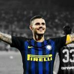 Mauro Icardi celebrando un gol con el Inter. Foto: Youtube.com