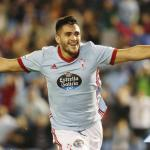 Maxi Gómez celebrando un gol con el Celta. Foto: RCCelta.es