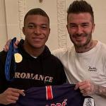Beckham quiere ser el agente de Mbappé. Foto: Sport