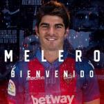 Gonzalo Melero, nuevo jugador del Levante UD / Twitter