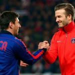"Beckham se rinde ante Messi: ""Cristiano no llega a su nivel"" | FC Barcelona noticias"