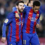 """Messi contribuyó al no de Neymar al Real Madrid """"Foto: Culé Manía"""""""