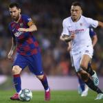 """Lucas Ocampos y su conexión con Leo Messi, muy a tener en cuenta en Can Barça """"Foto: Zimbio"""""""