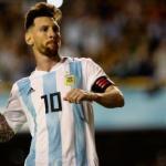 Messi en un partido con Argentina. / cubadebate.cu