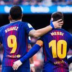 La lesión de Leo Messi y Luis Suárez no les permite forzar | Foto: GOAL
