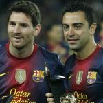 """El récord que Messi quitará a Xavi Hernández frente al Alavés """"Foto: Marca"""""""