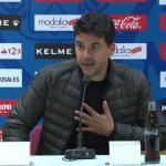 Michel, entrenador del Rayo Vallecano. Foto: Laliga.es