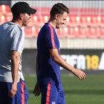 """El Milan se fija en un futbolista del Atlético de Madrid """"Foto: Atleti"""""""