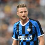 Skriniar en un partido con el Inter. / footballindex.news