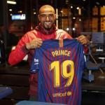 Boateng, el día de su fichaje (FC Barcelona)