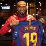 Boateng, el día de su fichaje / FC Barcelona.