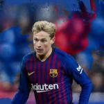 El cartel con el que el Barça anunció el fichaje de De Jong (FC Barcelona)