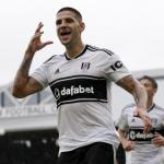 Mitrovic celebrando un gol con el Fulham. / foxsportsasia.com
