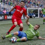 Imagen de un partido entre Seattle y Toronto. / wakingthered.com