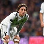 Modric ya no está para jugar en el Real Madrid