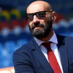 Monchi en su etapa con el AS Roma / Getty