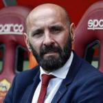 Monchi, en el estadio Olímpico / AS Roma.