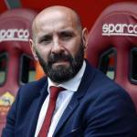 Ramón Rodríguez Verdejo 'Monchi', en el banquillo del Estadio Olímpico de Roma. Foto: ASRoma