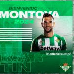 """OFICIAL: Martín Montoya, nuevo jugador del Real Betis """"Foto: RBB"""""""
