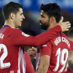 Morata y Diego Costa, futuro incierto